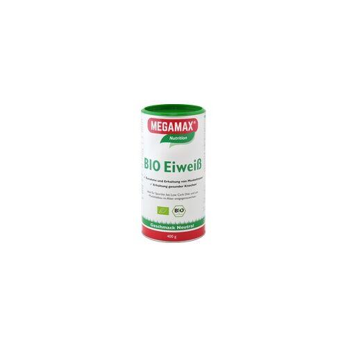 Megamax B.V. BIO Eiweiss Neutral Megamax Pulver 400 g