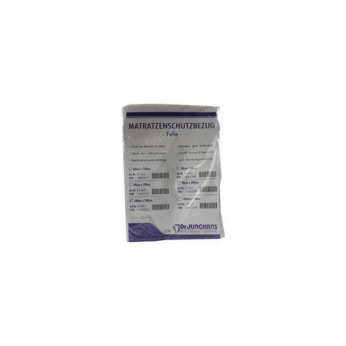 Dr. Junghans Matratzen Schutzbezug Folie 0,1 mm 100x200 cm weiß 1 St