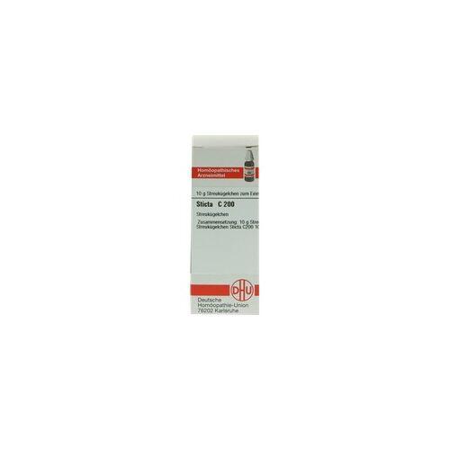 DHU-ARZNEIMITTEL Sticta C 200 Globuli 10 g