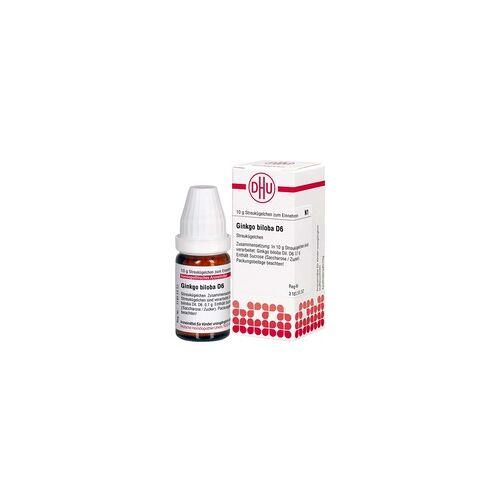 DHU-ARZNEIMITTEL Ginkgo Biloba D 6 Globuli 10 g