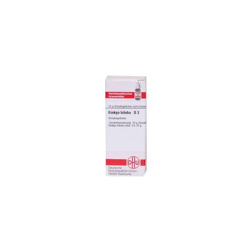 DHU-ARZNEIMITTEL Ginkgo Biloba D 3 Globuli 10 g