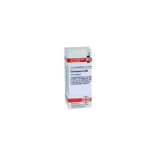 DHU-ARZNEIMITTEL Cortisonum D 200 Globuli 10 g