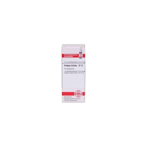 DHU-ARZNEIMITTEL Ginkgo Biloba D 12 Globuli 10 g