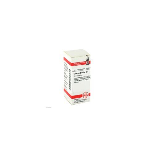 DHU-ARZNEIMITTEL Ginkgo Biloba D 4 Globuli 10 g