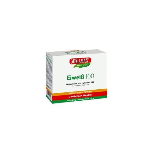 Megamax B.V. Eiweiss 100 Neutral Megamax Pulver 7X30 g