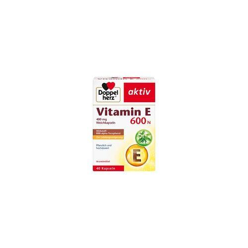 Queisser Doppelherz Vitamin E 600 N Weichkapseln 40 St