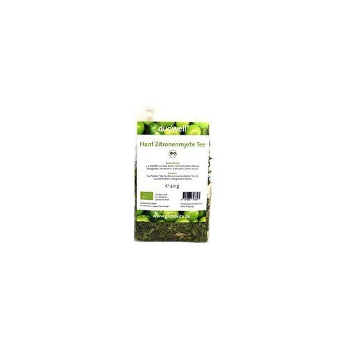 GloboVita GmbH Duowell Hanf Zitronenmyrte Tee Bio 40 g