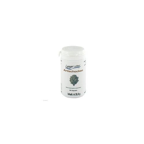 Langer Vital Artischocken Kapseln 400 mg 60 St