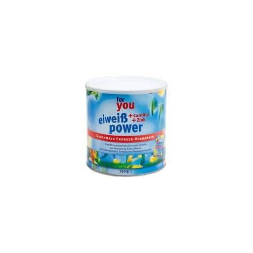 For You eHealth GmbH FOR YOU eiweiß power Erdbeere 750 g