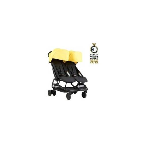 Mountain Buggy Nano Duo 2021, Farbe: ruby