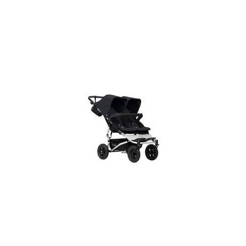 Mountain Buggy Duet V3 2020 Zwillings-Kinderwagen, Farbe: grid