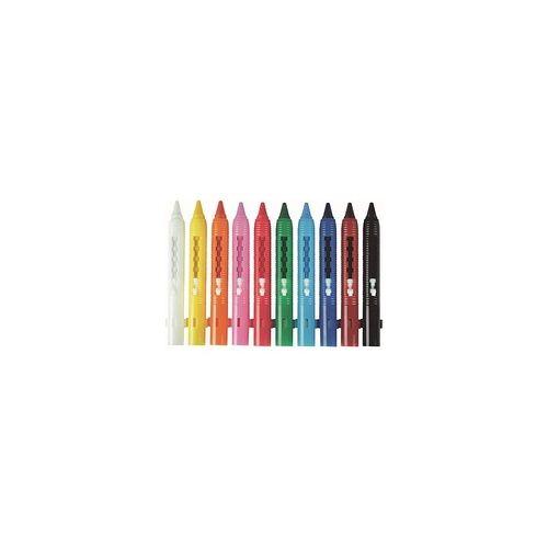 STYLEX TOPPOINT 10 STYLEX TOPPOINT   Wachsmalstifte farbsortiert