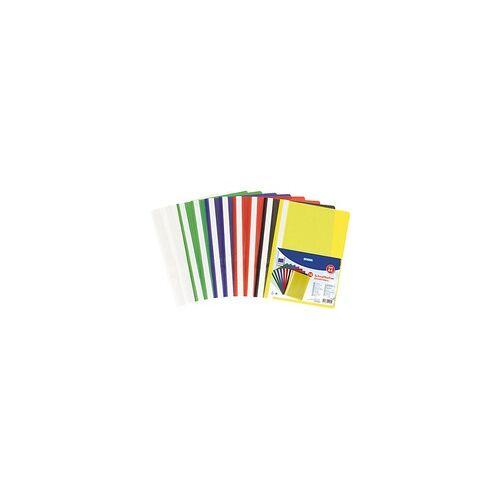 STYLEX TOPPOINT 10 STYLEX TOPPOINT Schnellhefter STYLEX 41162 Kunststoff farbsortiert DIN A4