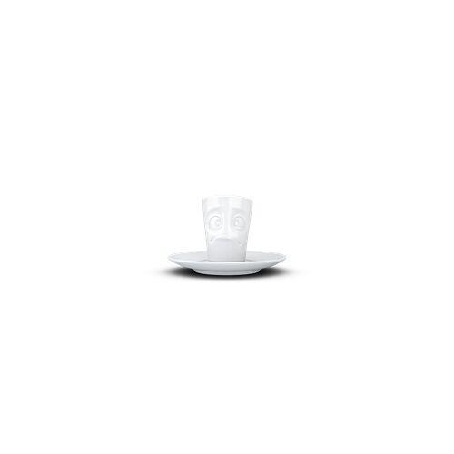 fiftyeight Espresso Mug Verdutzt weiß