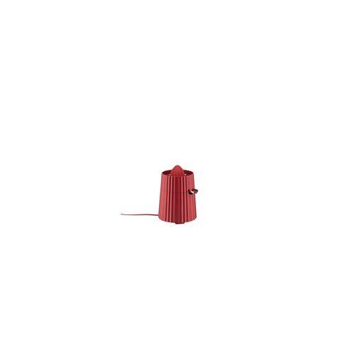 Alessi Elektrische Zitruspresse Plissé rot