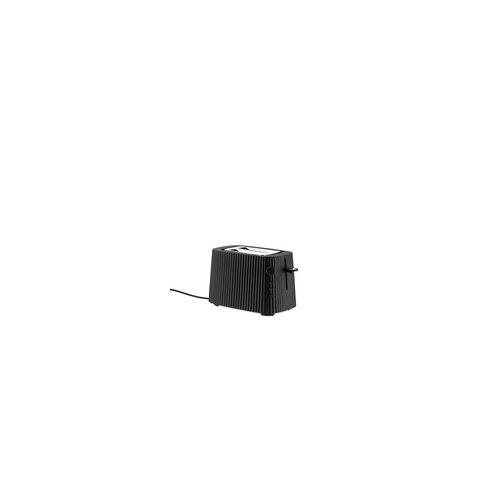 Alessi Elektrische Toaster Plissé schwarz