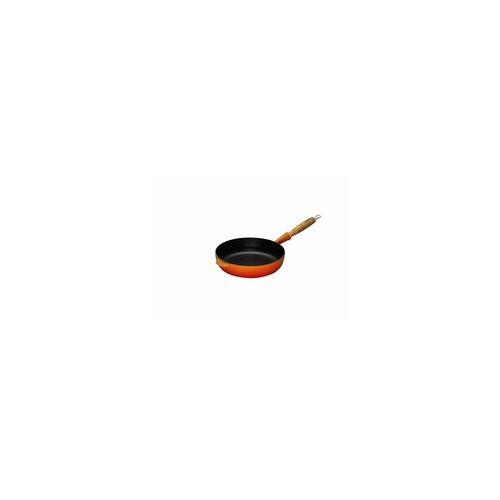 Le Creuset Saute-Pfanne mit Holzgriff 28 cm ofenrot