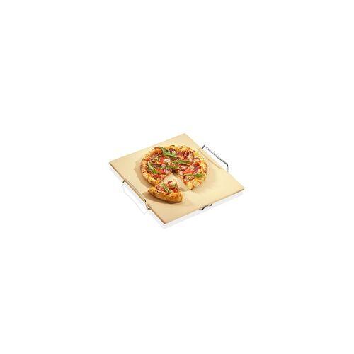 Küchenprofi Pizzastein mit Gestell BBQ