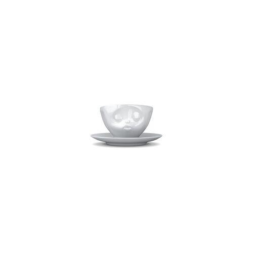fiftyeight Kaffeetasse Küssend weiß