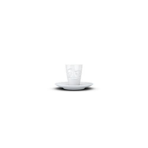 fiftyeight Espresso Mug Verschmitzt weiß
