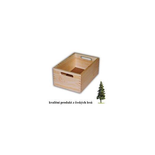 Biedrax HOLZKISTE 30 X 20 X 13 CM - BIEDRAX - WEISS