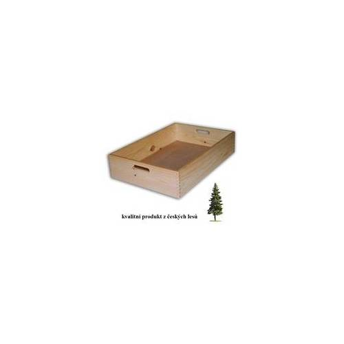 Biedrax HOLZKISTE 60 X 40 X 13 CM - BIEDRAX - WEISS