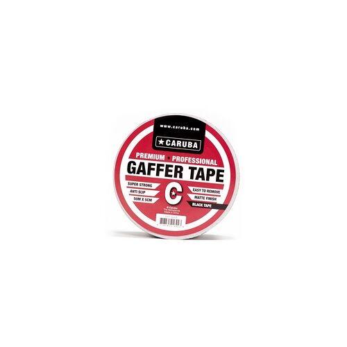 CARUBA Gaffer Tape 50 m x 5cm schwarz