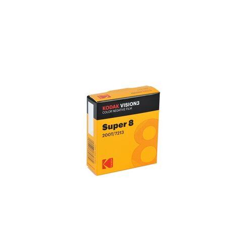 Kodak Vision3 200T 8mm für Super 8 Schmalfilmkameras Farbnegativfilm