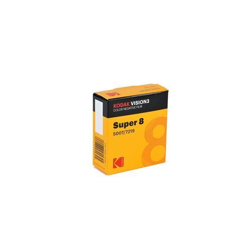 Kodak Film Vision3 500T 8mm für Super 8 Schmalfilmkameras Farbnegativfilm