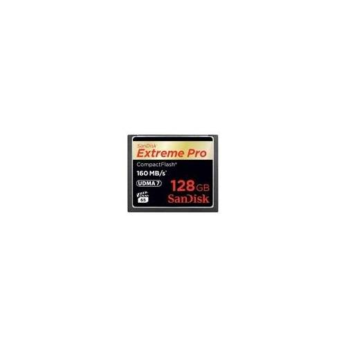 SanDisk CF-Card 128GB Extreme Pro (160 MB/s)