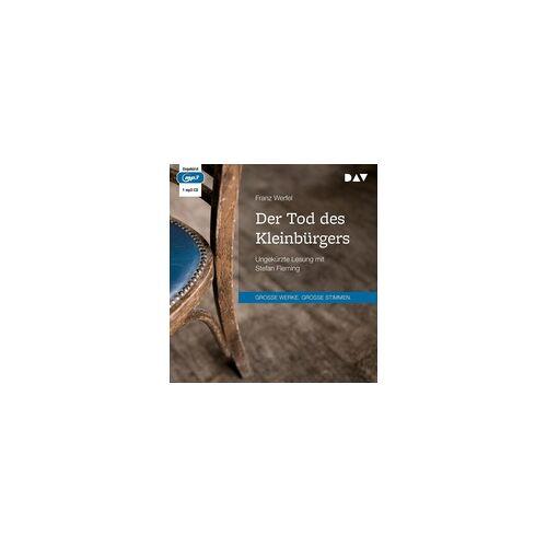 Der Tod des Kleinbürgers als Hörbuch CD von Franz Werfel