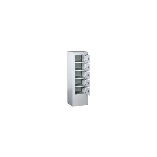 FORMAT Wertfachanlage und Schließfachanlage mit 5 Fächern