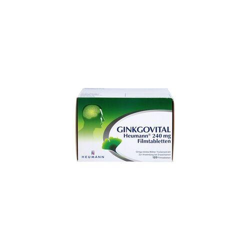 GINKGOVITAL Heumann 240 mg Filmtabletten 120 St