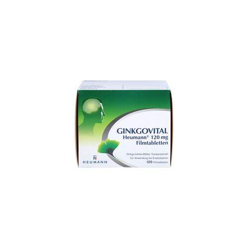 GINKGOVITAL Heumann 120 mg Filmtabletten 120 St