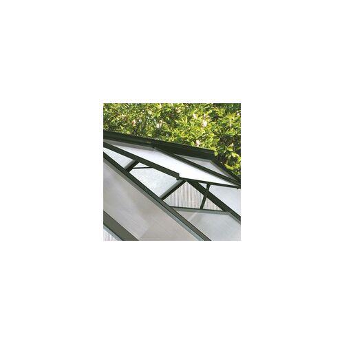 Gutta F6 Alu-Gewächshaus (2 Dachfenster)