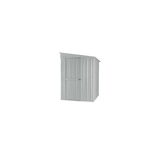 """Globel Industries Anlehn-Gerätehaus """"Lean-To 56"""",silber metallic,2,79 m²"""