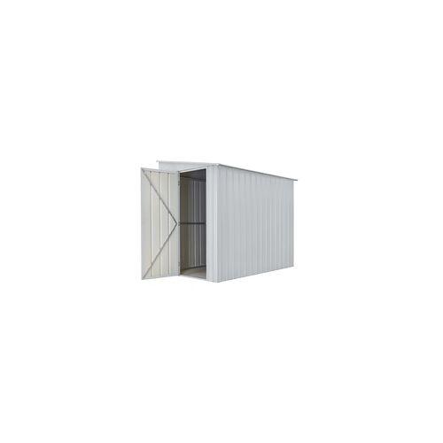 """Globel Industries Anlehn-Gerätehaus """"Lean-To 58"""",silber metallic,3,75 m²"""