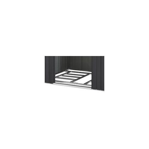 """VITAVIA Pergart Fundamentbodenrahmen für Gerätehaus """"Dresden II 106"""",schwarz,162 x 291 x 2,6 cm"""
