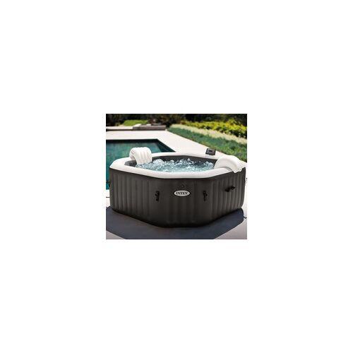 "Intex Whirlpool ""Pure Spa Kombi Octagon Bubble Jet"" mit integriertem Salzwassersystem,,Ø 201 x 71 cm"