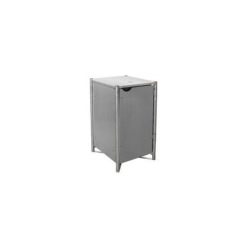 HIDE Hide Mülltonnenbox 140l Kunststoff; 1er Box,grau,