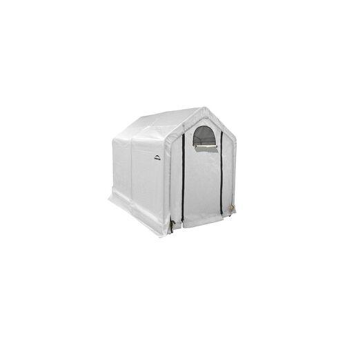 ShelterLogic Gewächshaus 4,32 m²,weiß,240 x 180 x 200 cm (L x B x H)
