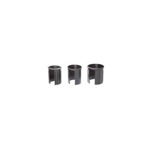 Doppler Granitsockel-Reduzierringe für Schirmstock Ø 52, 48, 40 mm,schwarz,