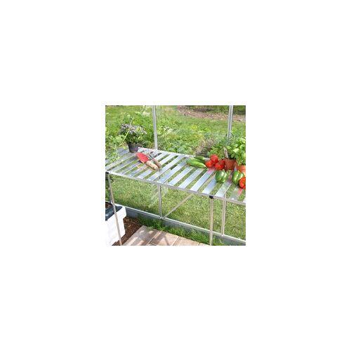 Vitavia Pflanztisch für Gewächshäuser, abklappbar,schwarz,