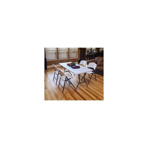 Lifetime Kunststoff-Klapptisch,weiß,76 x 183 x 74 cm (L x B x H)