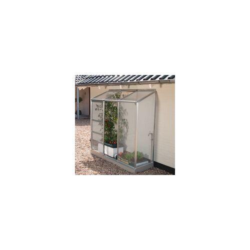 """Vitavia Anlehn-Gewächshaus """"Ida 1300"""" für Balkon und Terrasse,aluminium eloxiert,"""
