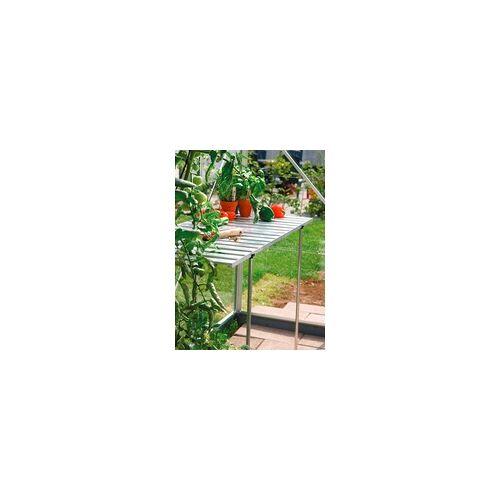 Vitavia Pflanztisch für Gewächshäuser, abklappbar,smaragd grün,120 x 52 x 77 cm