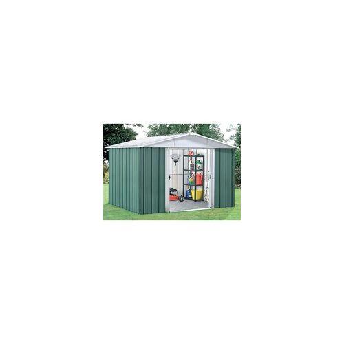 "Yardmaster Metall-Gerätehaus ""Bayern"" Modell 87,grün,4,68 m²"