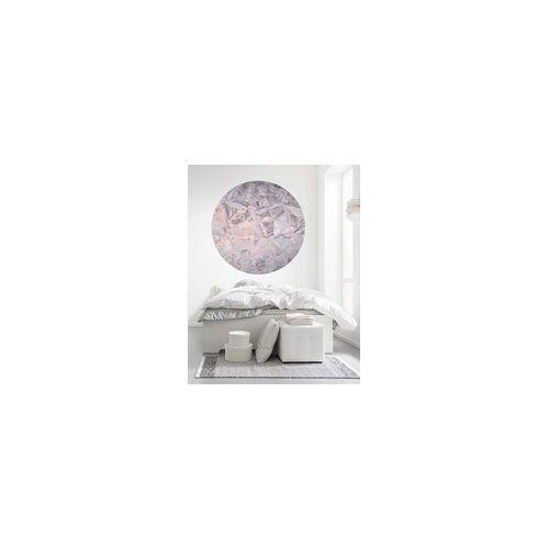 Komar Fototapete Glossy Crystals Ø 125 cm