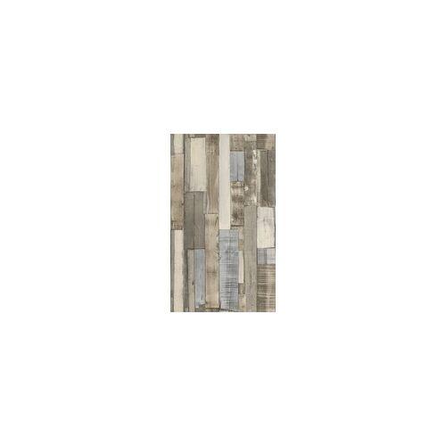 Rasch Vliestapete Holz braun 10,05 x 0,53 m