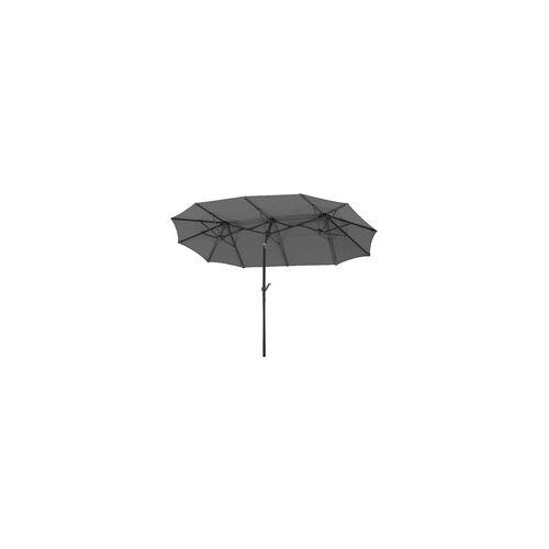 Schneider Schirme Schneider Sonnenschirm Salerno anthrazit, 300 x 150 cm